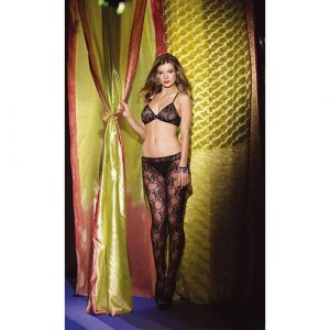 Bodystocking met cut-out voorkant - Intiemtoys.nl