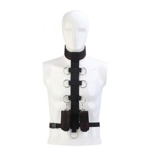 Blaze Deluxe Collar Body Restraint - Intiemtoys.nl